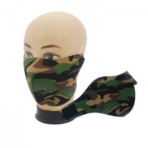 Masque en neoprene demie- face