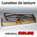 Lunettes loupe Color orange
