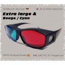 Lunettes 3D Extra Large R/C